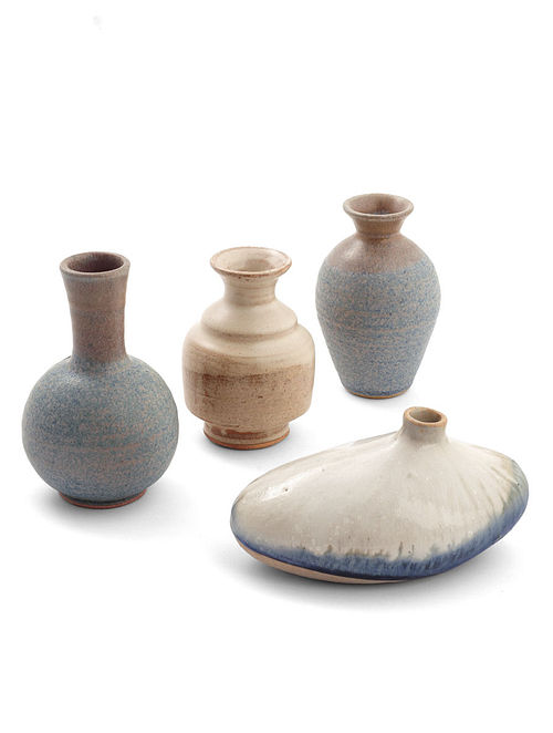 Buy Small Vases - Set Of 4 Online at Jaypore com