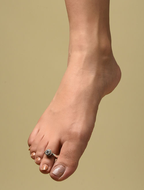 Classic Silver Adjustable Toe Rings (Set of 2)