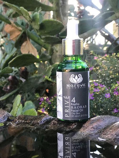 Prive Kapha Baobab Facial Oil (30ml)