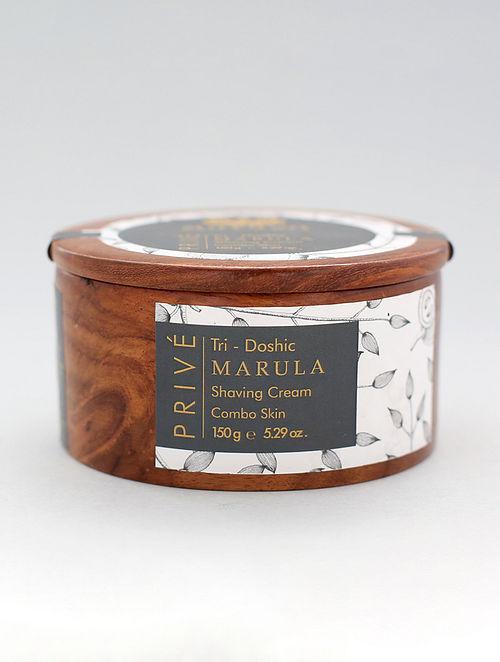 Prive Tridoshic Marula Shaving Cream (150g)