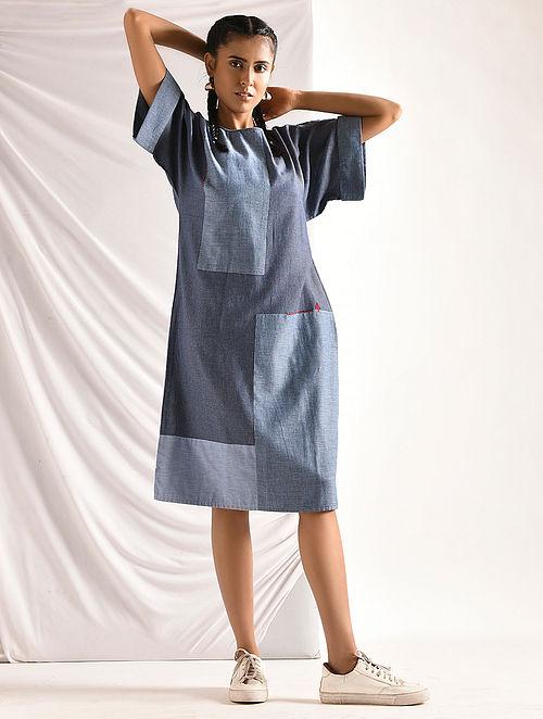 Blue Chambray Dress