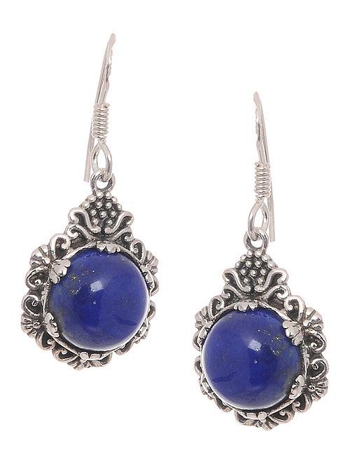 aa7f42d545c Buy Lapis Lazuli Silver Earrings Online at Jaypore.com