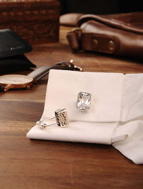 Handcrafted Silver Cufflinks