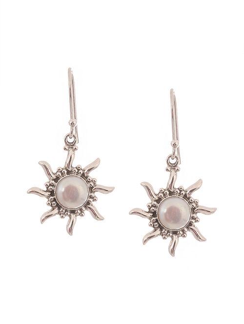 Fresh Water Pearl Silver Earrings