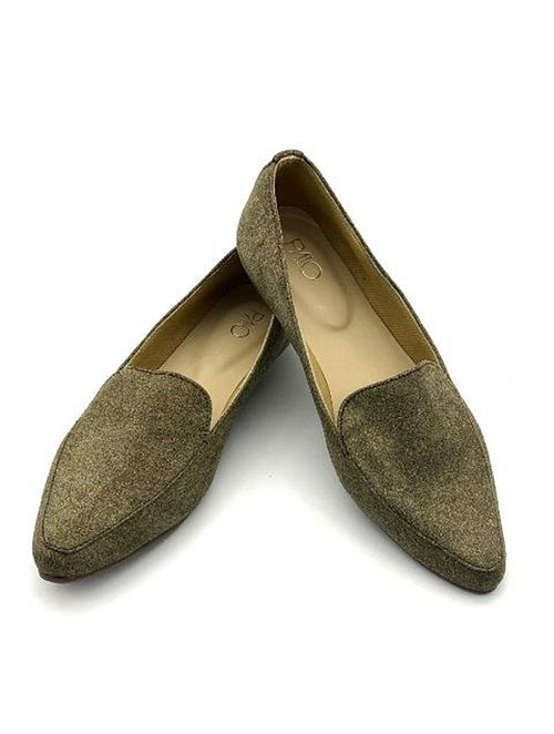 f20ecf2cb Buy Olive Green Handcrafted Loafers Online at Jaypore.com
