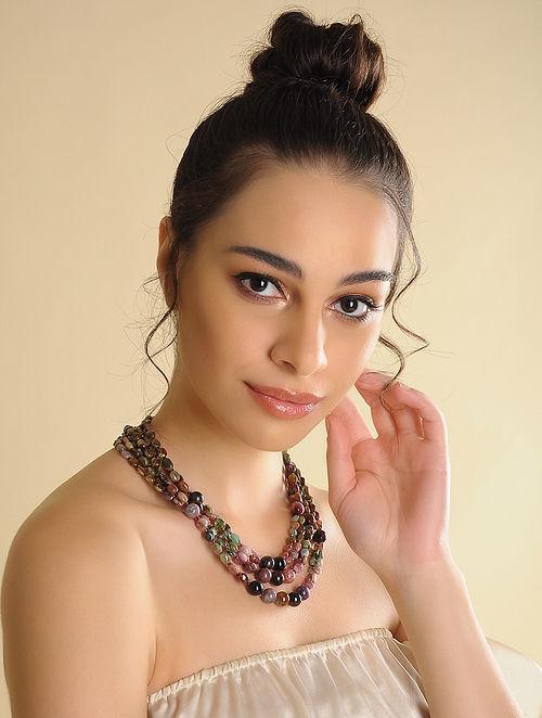 Tourmaline Beaded Necklace
