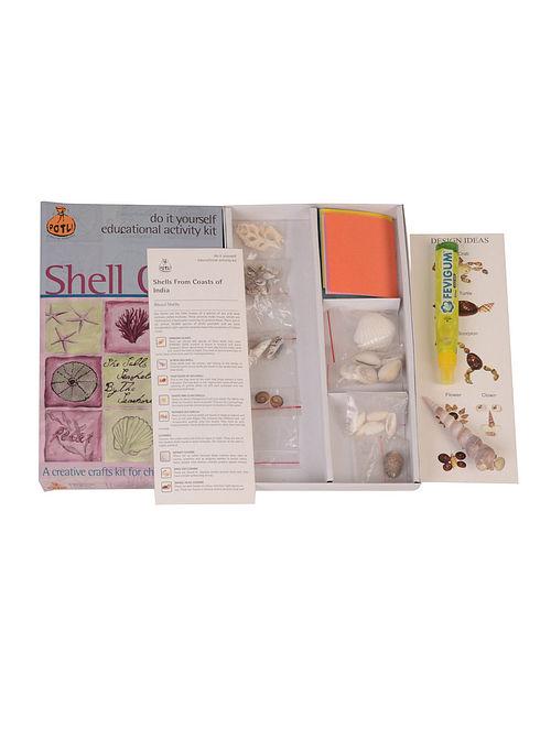 Buy Diy Indian Shell Craft Kit Online At Jaypore Com