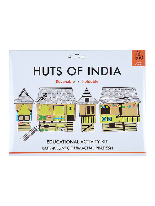 DIY Educational Kit - Kath-khuni of Himachal Pradesh