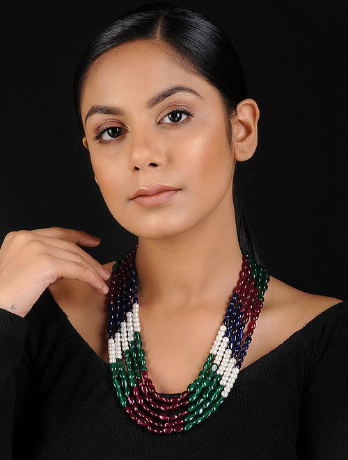 Multicolored Beaded Handcrafted Necklace