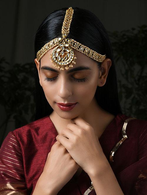 Gold Tone Kudnan Maatha Patti