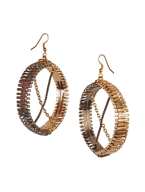 Dual Plated Brass Earrings
