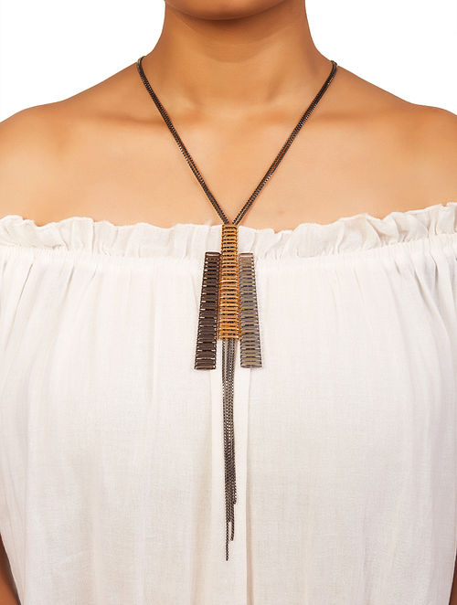 Dual Plated Brass Necklace