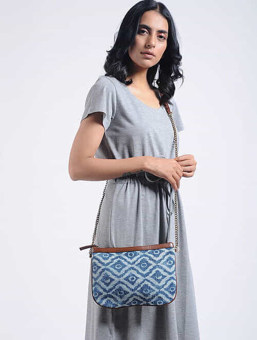 Multicolored Cotton Kilim Sling Bag