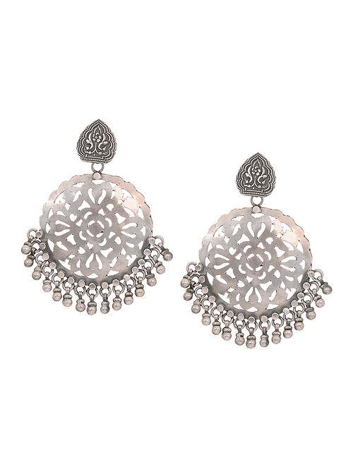 a585e35425 Buy Tribal Silver Earrings Online at Jaypore.com