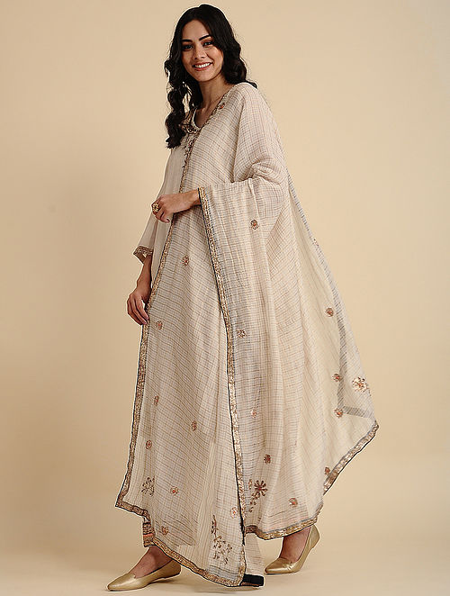 Sahar Natural Silk Cotton Dupatta
