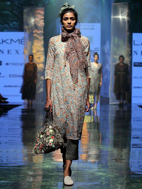 Nadima Jaal Print Silk Dupatta