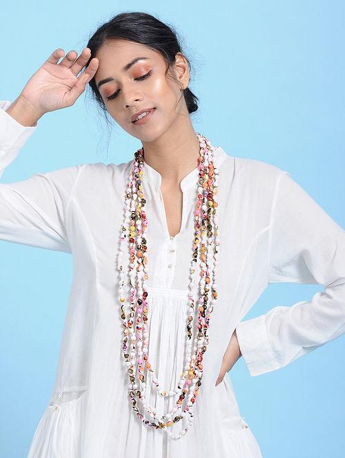 Multicolored Cotton Necklace