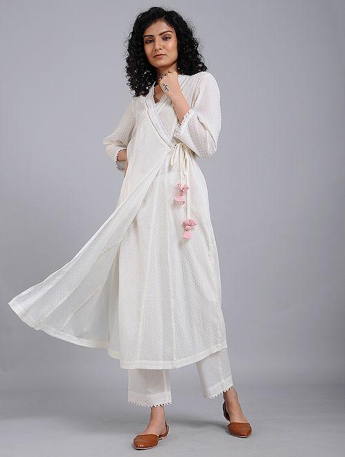 Ivory Cotton Kurta
