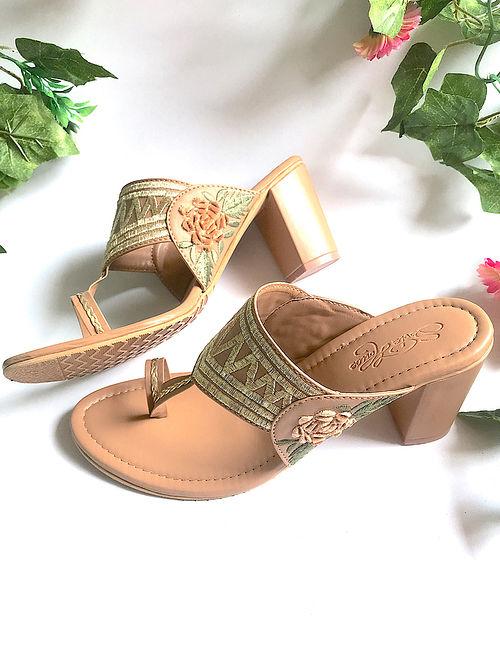 Kolhapuri chappal with heels