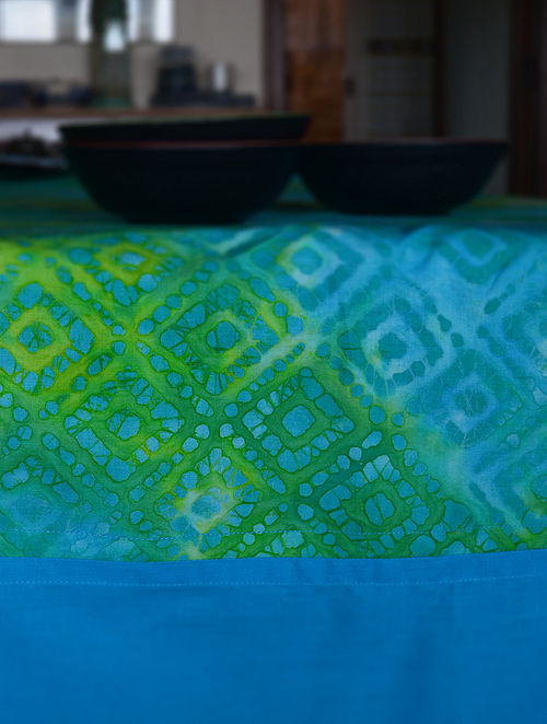 Square Batik Table Cloth - 60in x 120in