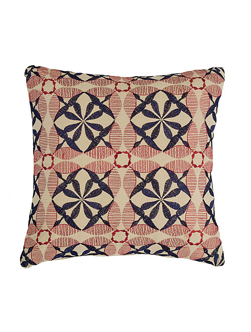 Embroidered Cushion Cover 12in X 12in