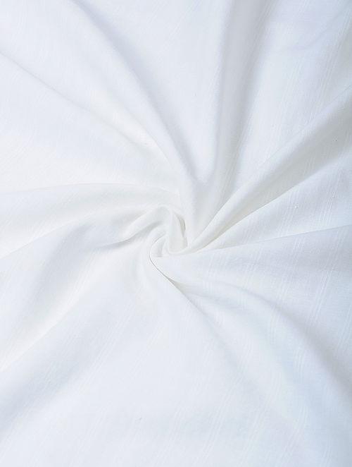 White Handloom Cotton Fabric