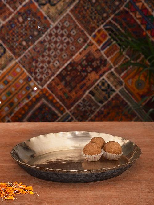 Handmade Kansa Rice Platter (Dia- 11in)