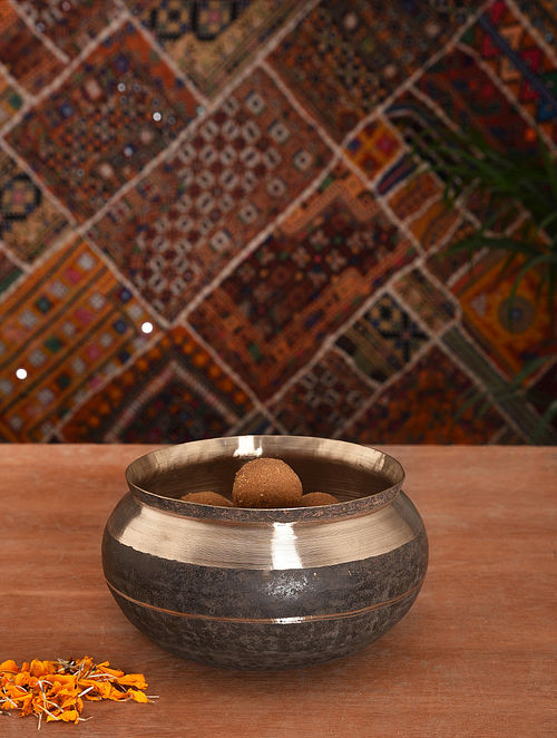Handmade Kansa Deep Bowl (Dia- 6in)
