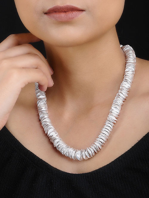 Silver Plated Handcrafted Necklace