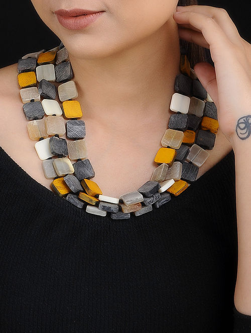 Multicolored Handcrafted Layered Necklace