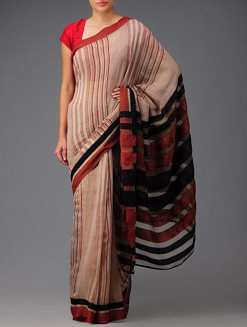 Bagh Print Cotton-Silk Saree