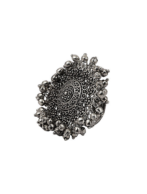 Silver Tone Tribal Ring