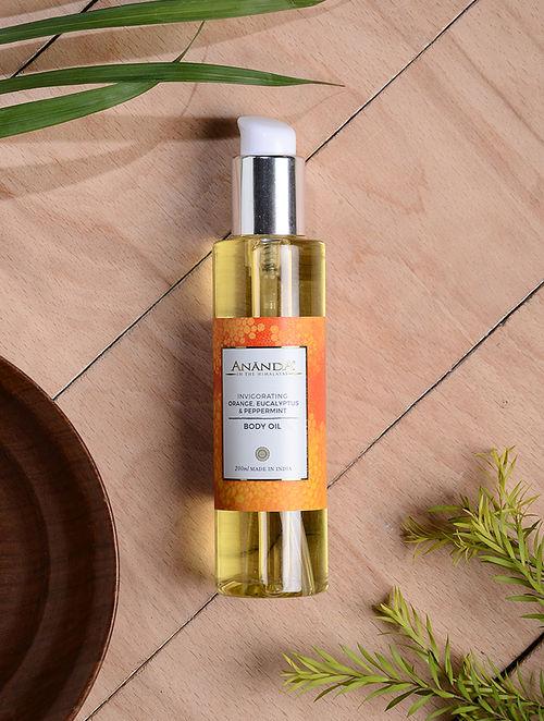 Orange, Eucalyptus & Peppermint Invigorating Body Oil - 200 ml