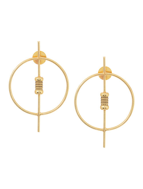 Classic Gold Tone Earrings