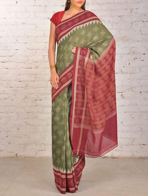 Buy Indian Ikat Orissa Cotton Saree Online At Jaypore Com
