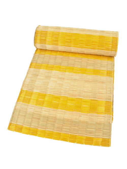 Buy Yellow Do Hara Table Runner Stripes Online At