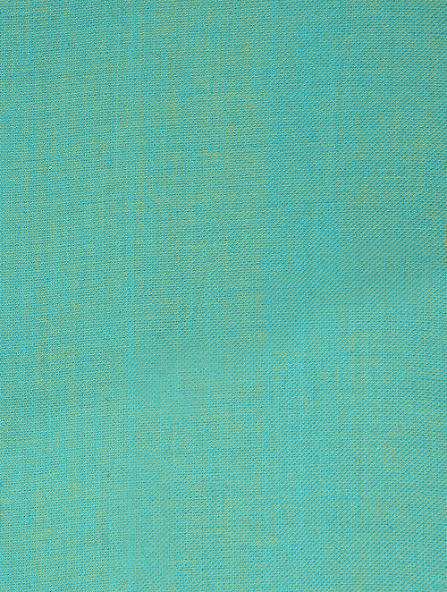Buy Green-Blue Reversible Twill Cotton Fabric Online at Jaypore.com
