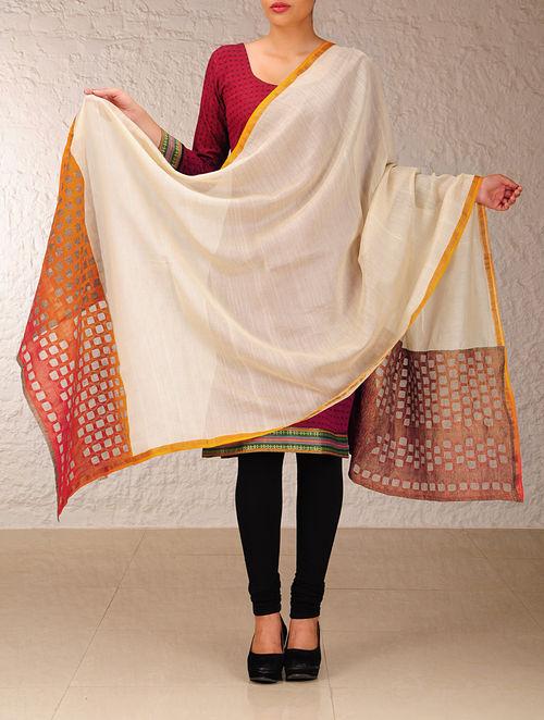 Buy Katab Applique Maheshwari Dupatta Online At Jaypore Com