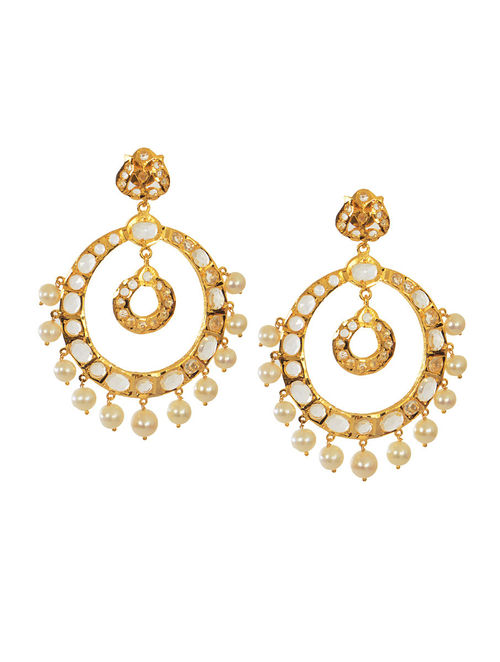 Buy Chand Bali Pearl Earrings Online At Jaypore Com