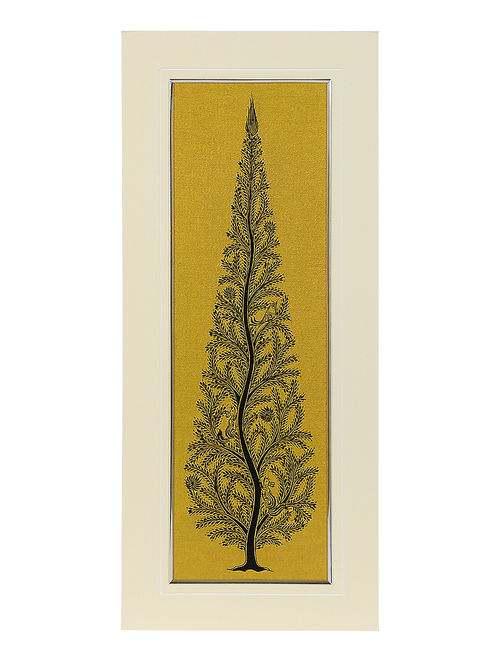 Buy Tree of Life Mounted Pattachitra Wall Art 19in X 8in Online at ...