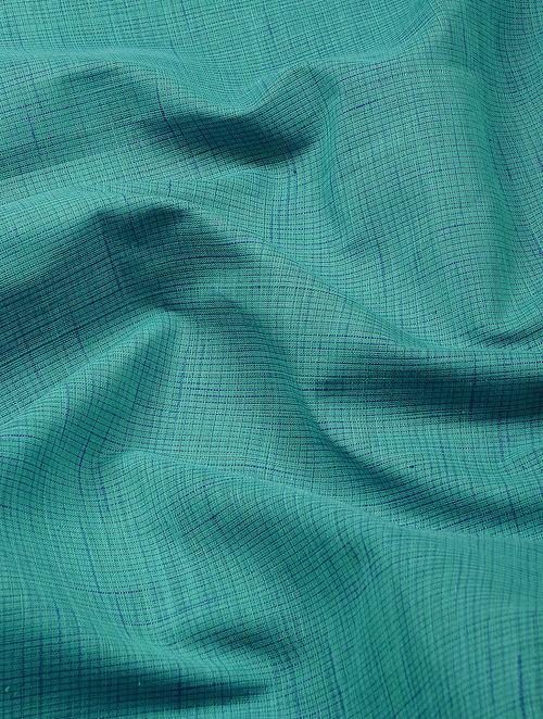 Buy Green Cotton Khadi Fabric Online At Jaypore Com