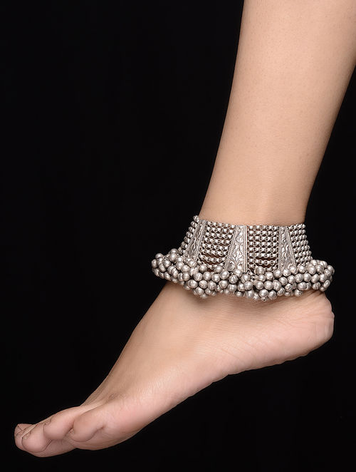 silver anklets with beads anklet layered bracelet chain sweetiee sterling triple dp tiny for platinum
