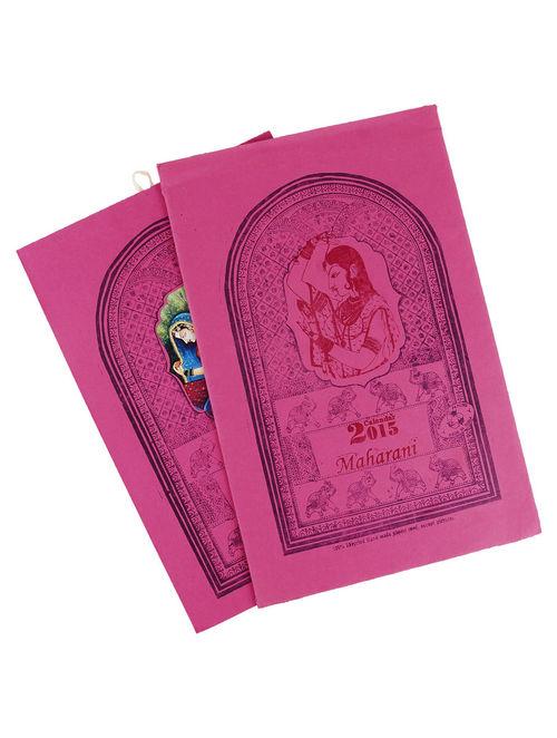 Maharani-Calendar 2015  15in x 10in