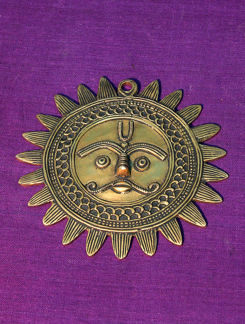 Buy Brass Surya 5in x 5in Online at Jayporecom : imlhoj000042460 1 from www.jaypore.com size 500 x 662 jpeg 145kB