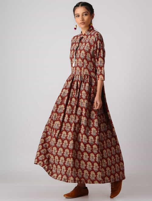 Long Cotton Maxi Dresses