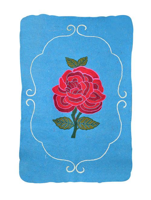 Buy Cerulean Rose Rug 5ft x 3ft Online at Jayporecom : mbthorgmcnajp05 1 from www.jaypore.com size 500 x 662 jpeg 68kB