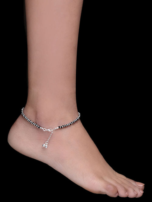 superby antique anklets rare wovensouls silver anklet jewelry products indian ornament crafted