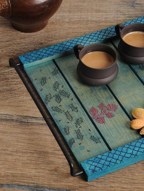 Fish Design Tray 12.5in x 11in x 1.3in