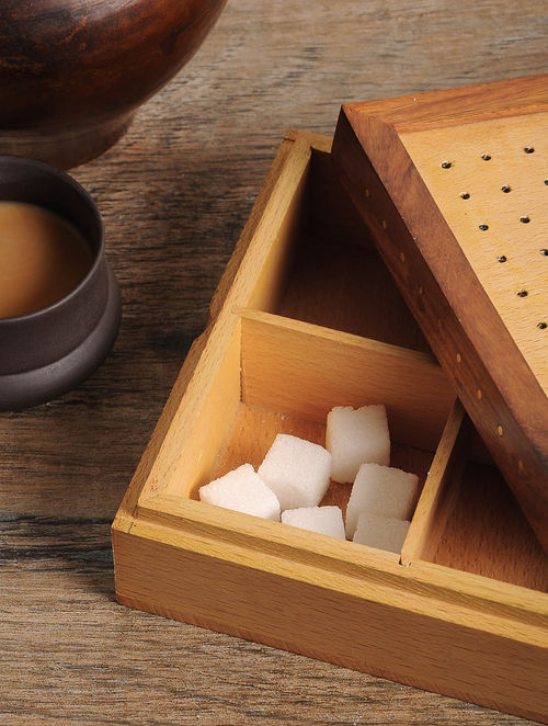 Tea Bag box 6in x 6in x 2in