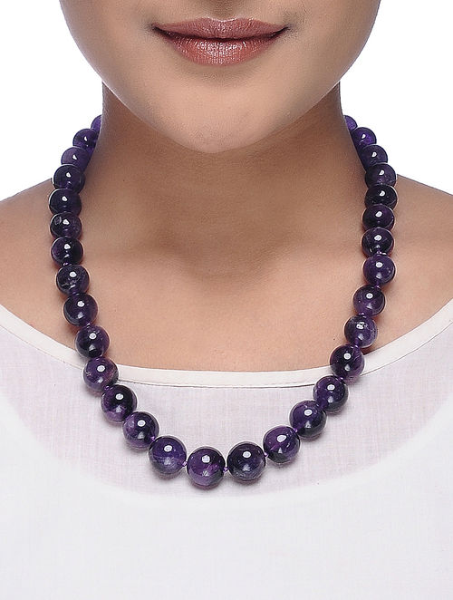 amazon agate beaded stone beads handmade long com necklace women necklaces india slp
